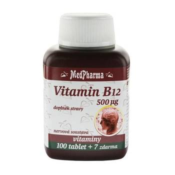 Medpharma Vitamin B12 500 mcg 107 tablet