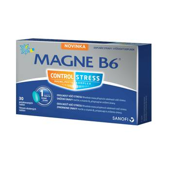 Magne B6 Stress Control 30 tablet2