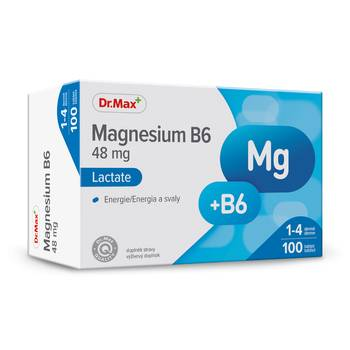 Dr.Max Magnesium B6 48 mg 100 tablet