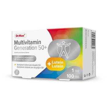 Dr.Max Multivitamin Generation 50+ 100 tablet