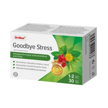 Dr.Max Goodbye Stress 30 kapslí