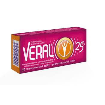 Veral 25 mg 30 tablet