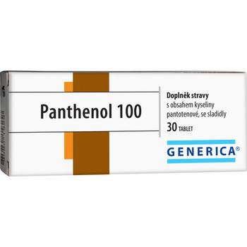 Generica Panthenol 100 30 tablet