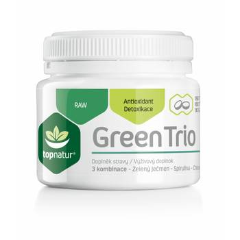 Green trio TOPNATUR, 180 tablet