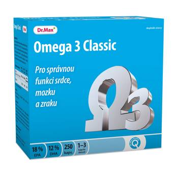 Dr.Max Omega 3 Classic cps.250